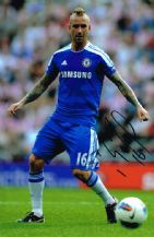 Raul Meireles Autograph Signed Photo - Chelsea